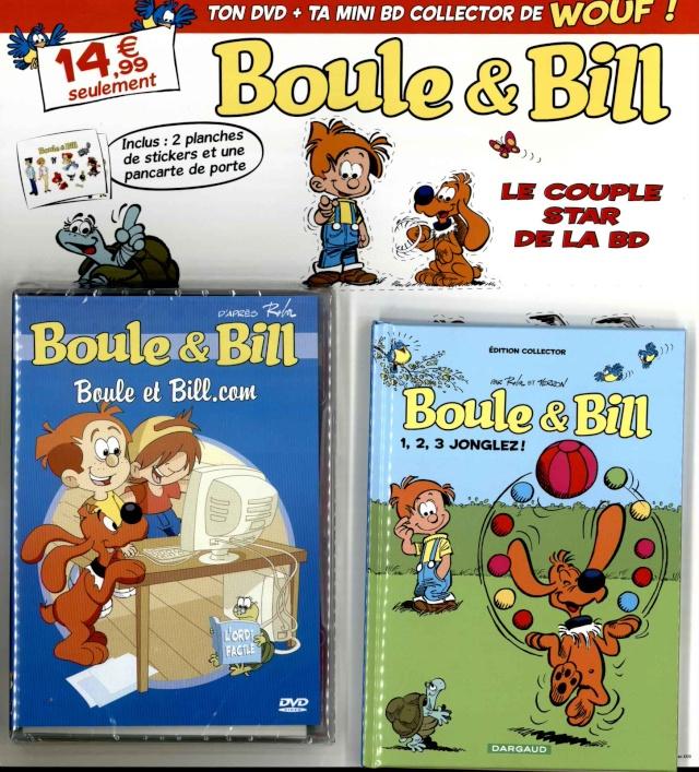DVD + Mini BD + Stickers et Plaque de Porte Boule & Bill Boule_11