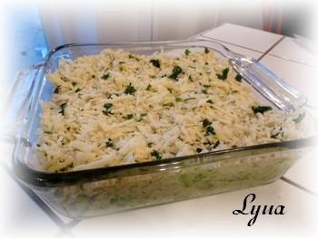 Casserole de riz au brocoli et fromage Casser11