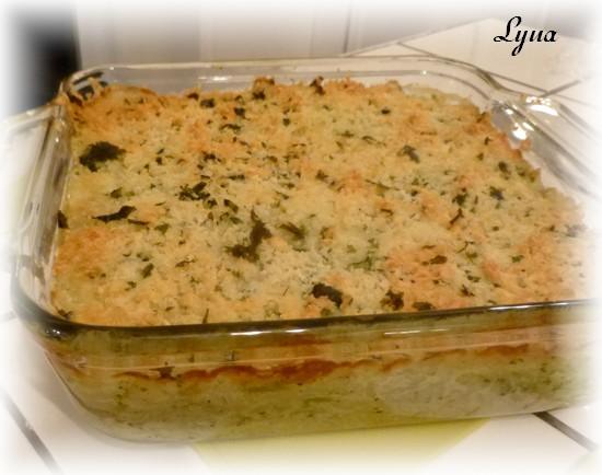 Casserole de riz au brocoli et fromage Casser12