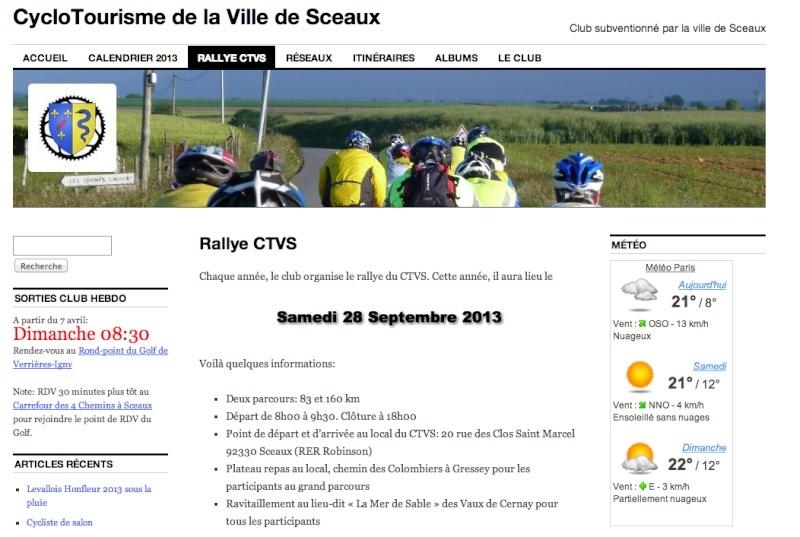 Cyclo - Rallye CTVS - Samedi 28 sept - Sceaux Captur27
