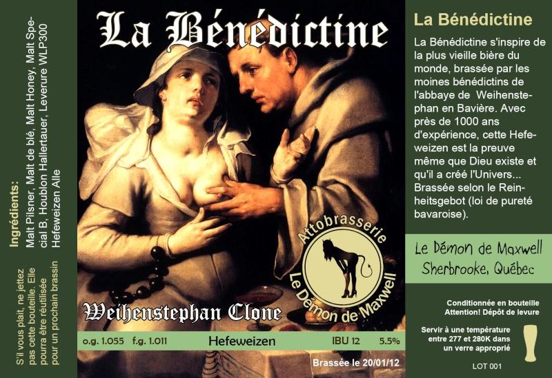 Étiquette; personnaliser chaque bière Benedi10