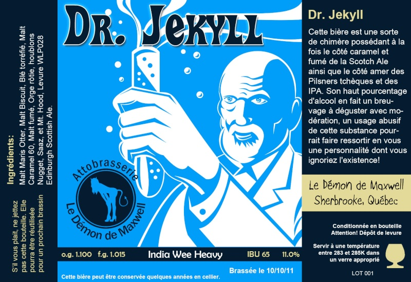 Étiquette; personnaliser chaque bière Drjeky10