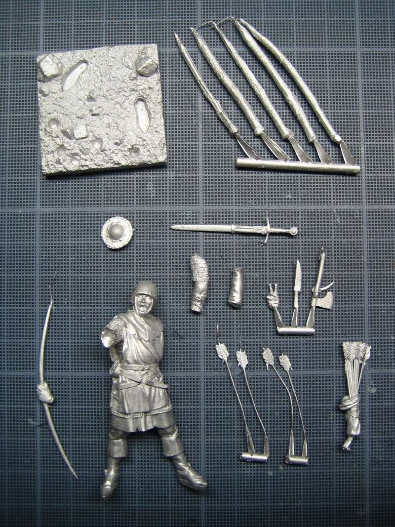 Guerre de 100 ans - Archer Anglais de ToffThor Img_1020