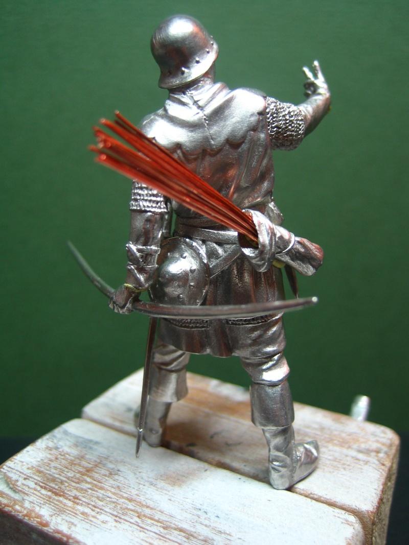 Guerre de 100 ans - Archer Anglais de ToffThor Img_1026