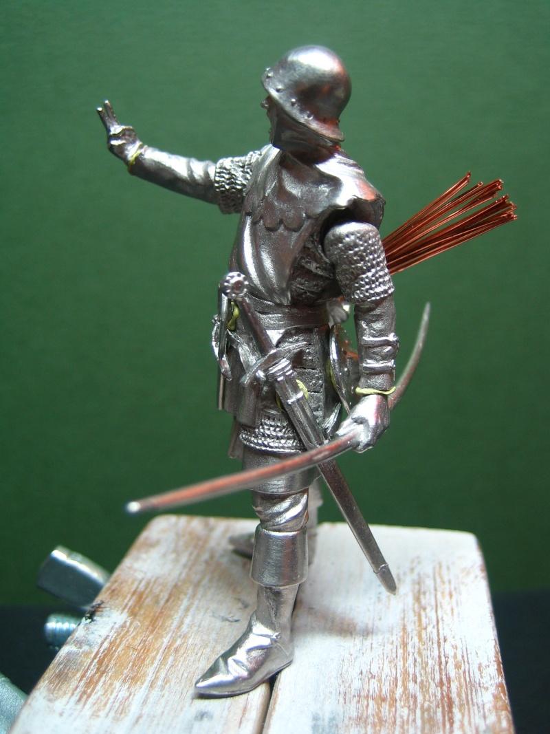 Guerre de 100 ans - Archer Anglais de ToffThor Img_1027