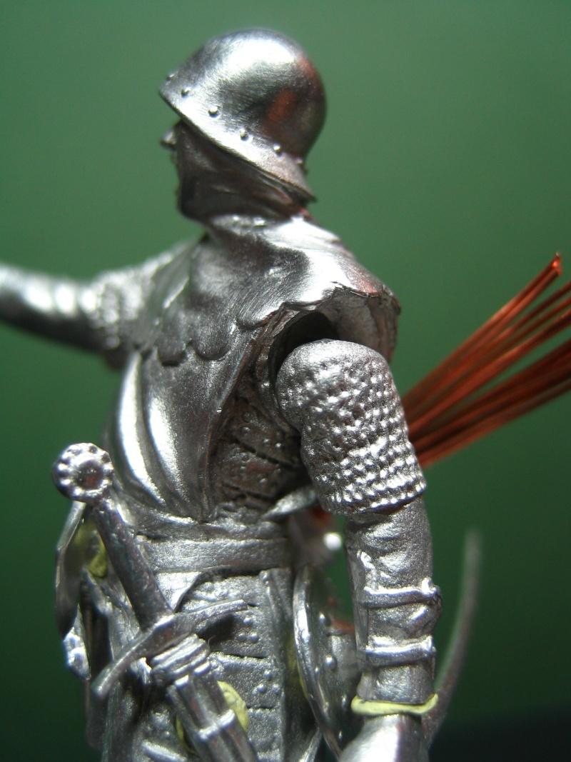 Guerre de 100 ans - Archer Anglais de ToffThor Img_1028