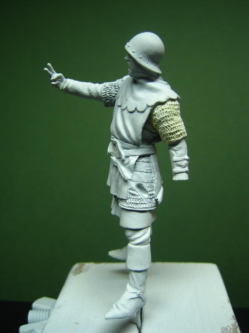 Guerre de 100 ans - Archer Anglais de ToffThor Img_1036