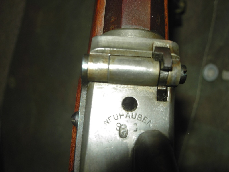 Fusil d'infanterie modèle 1863/67, système Milbank-Amsler Kif_0028