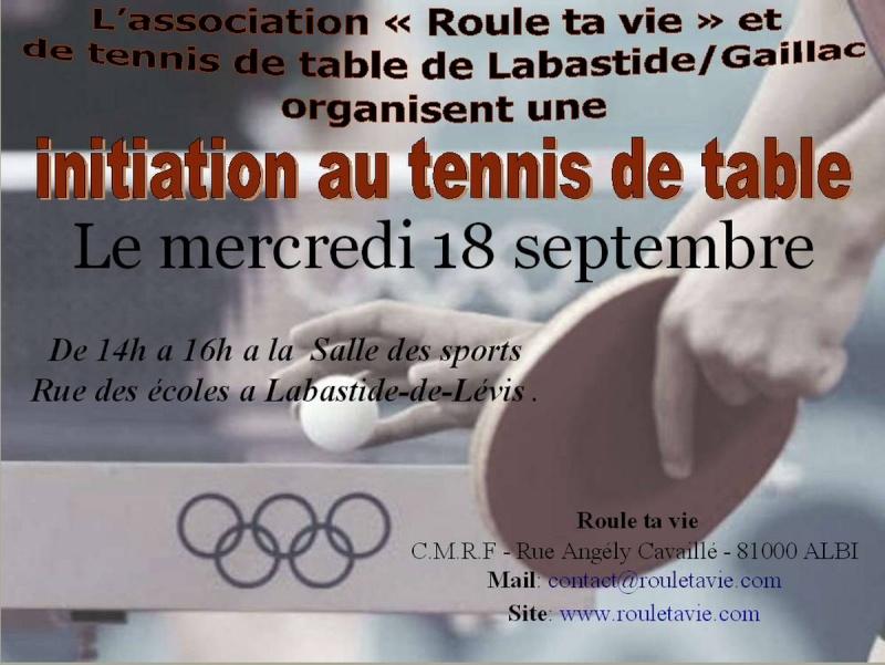 Section handi sport de tennis de table 210