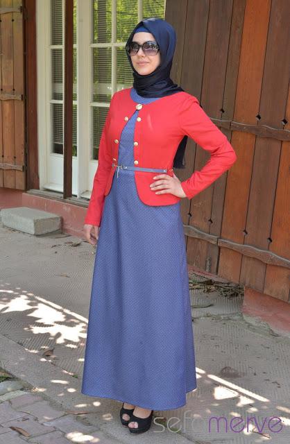 128db10f5c7d5 ... أجمل مجموعة ملابس محجبات صيف 2014 (1) Uooooo17