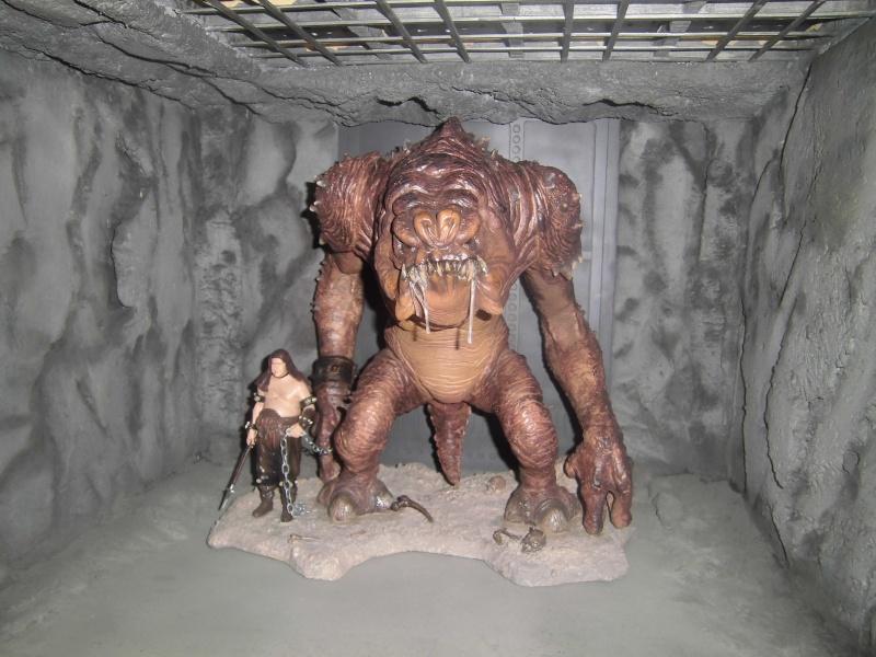 STAR WARS : Palais de Jabba, Rancor grotte xxl - Page 3 Cimg3026
