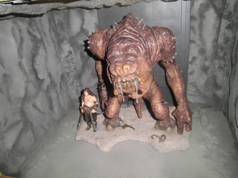 STAR WARS : Palais de Jabba, Rancor grotte xxl - Page 3 Cimg3044