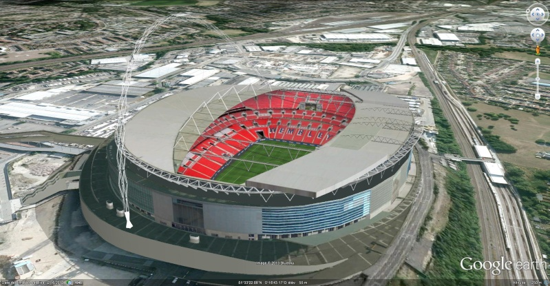 [Royaume-Uni] - Stade de Wembley, Londres Wemble11