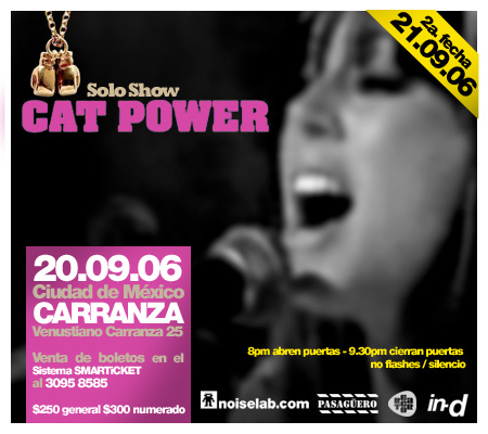 9/20/06 + 9/21/06 - Mexico City, Mexico, Carranza, Ex-nafinsa 123