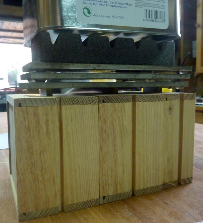 Une boîte à tiroirs en robinier et makoré 14coll11