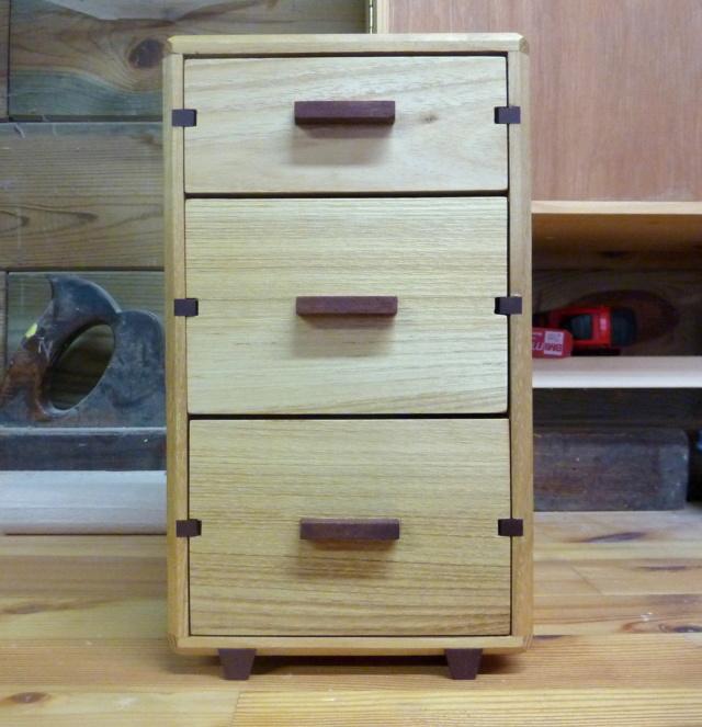Une boîte à tiroirs en robinier et makoré 19bozy10