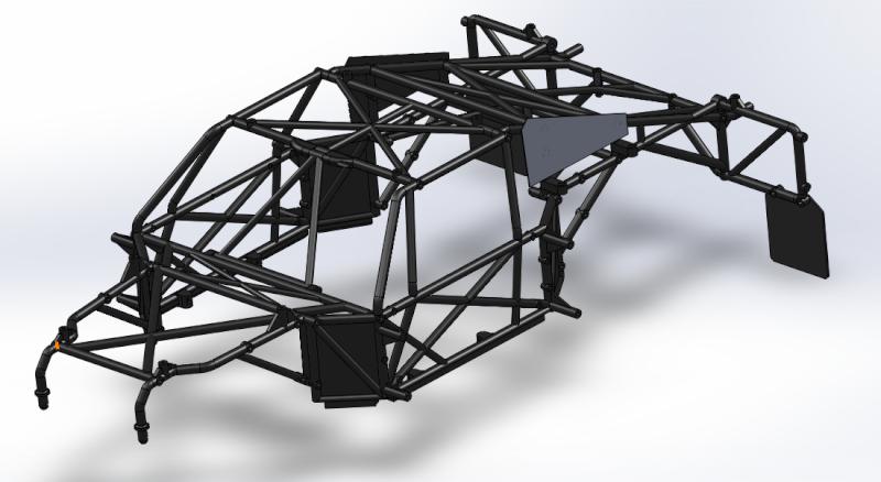 Modélisation en 3D d'un LOSI 5ive-T Rollca10