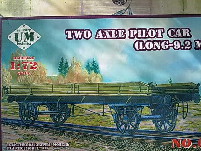 Two Axle Pilot Car 00111