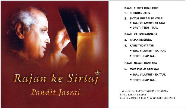 Musiques traditionnelles : Playlist - Page 9 Jasraj11