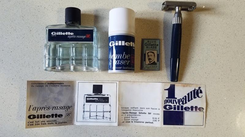 Kit de rasage Gillette année 60 73528610