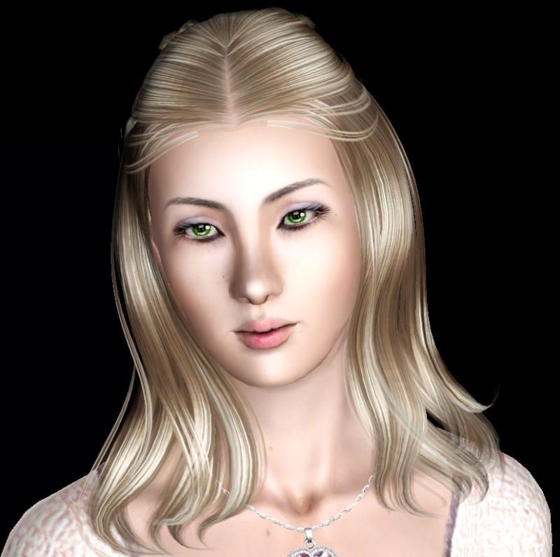 """MOLLY (my """"girl next door"""" Female blonde sim) Wip_he15"""