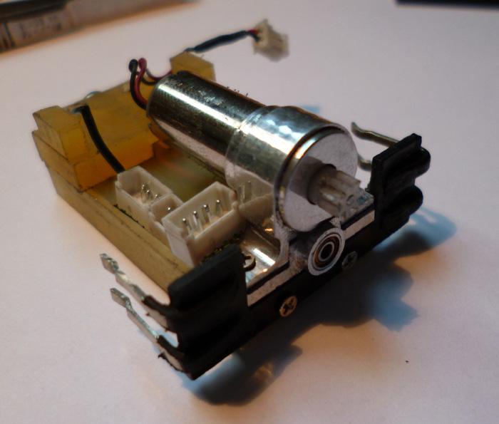 prototype Dnano AWD DWS / fraiseuse PROXXON   Chassi24