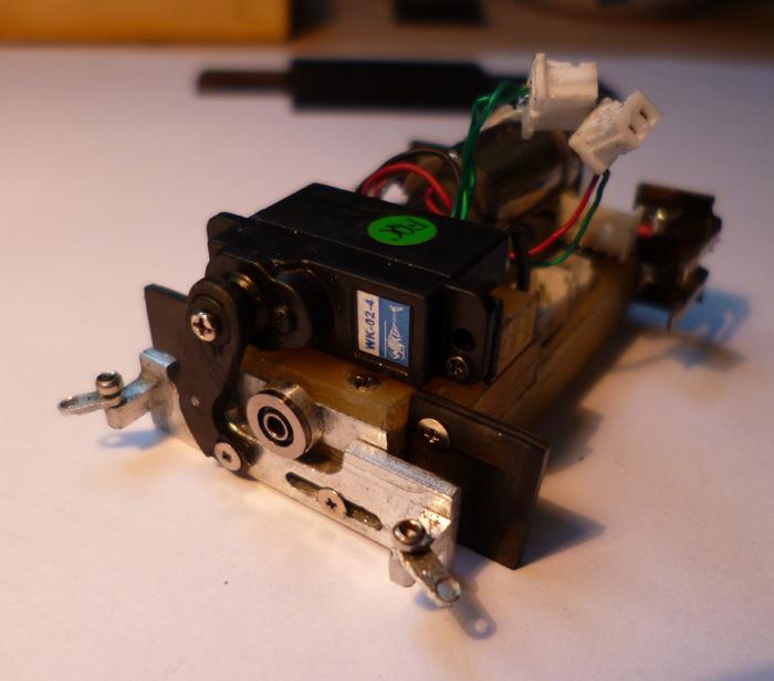 prototype Dnano AWD DWS / fraiseuse PROXXON   Chassi27
