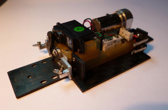 prototype Dnano AWD DWS / fraiseuse PROXXON   Chassi28