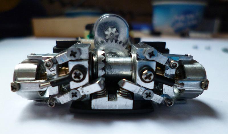 prototype Dnano AWD DWS / fraiseuse PROXXON   Chassi31