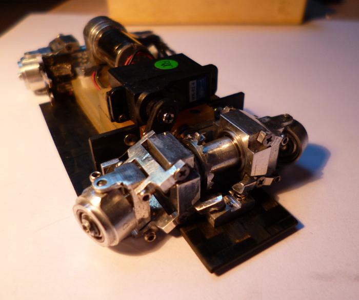 prototype Dnano AWD DWS / fraiseuse PROXXON   Chassi32