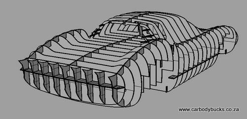 Comment concevoir et réaliser un squelette car wooden buck? Car-bo10