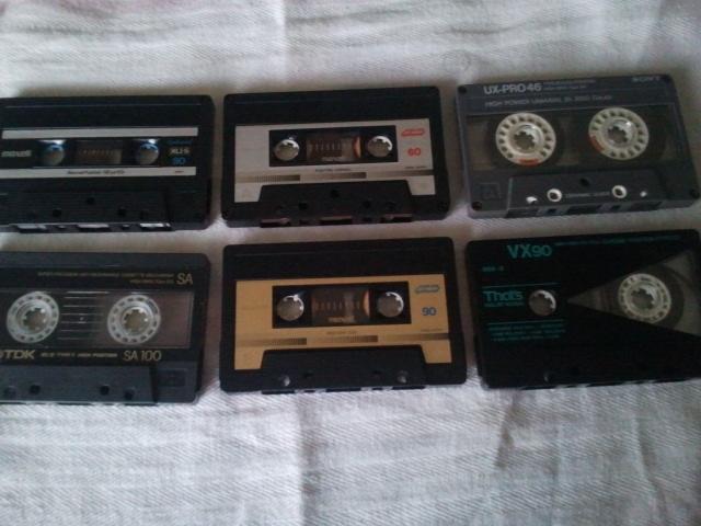 Piastra di registrazione ed audiocassette Compac10