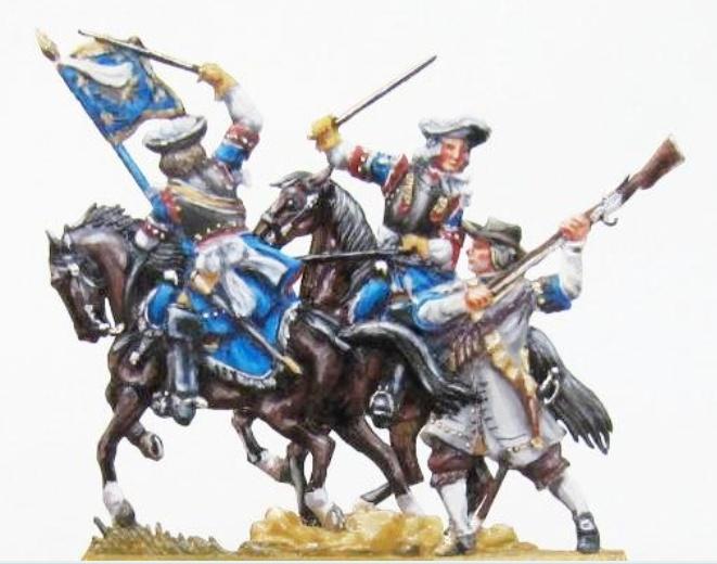 Cuirassiers du Roi à Maastricht 1673 New_pi11