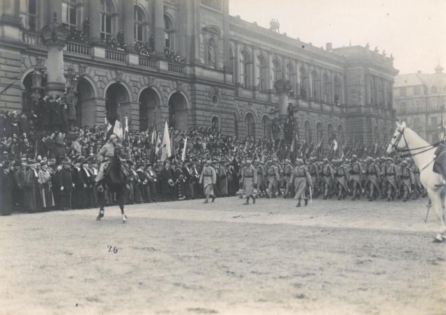 Défilé Militaire Strasbourg 1919 - Inauguration de l'Université Sfr-na10