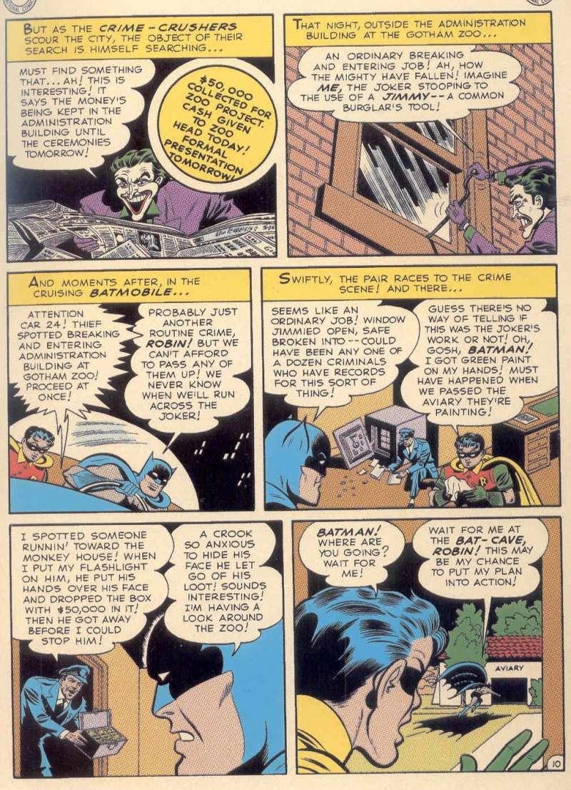 les comics batman qui furent adaptes dans batman TAS de 1992 Pg1010