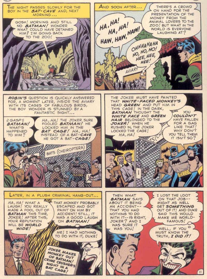les comics batman qui furent adaptes dans batman TAS de 1992 Pg1110