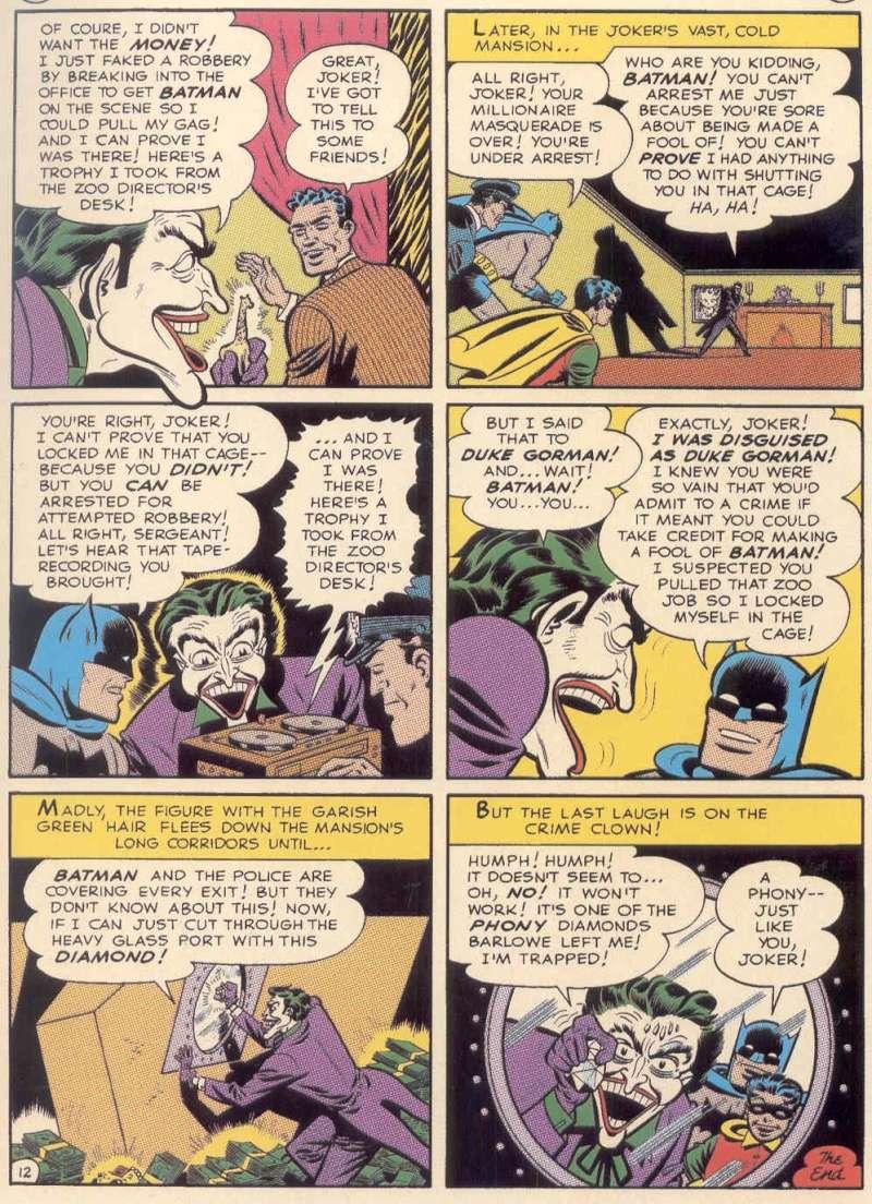 les comics batman qui furent adaptes dans batman TAS de 1992 Pg1210