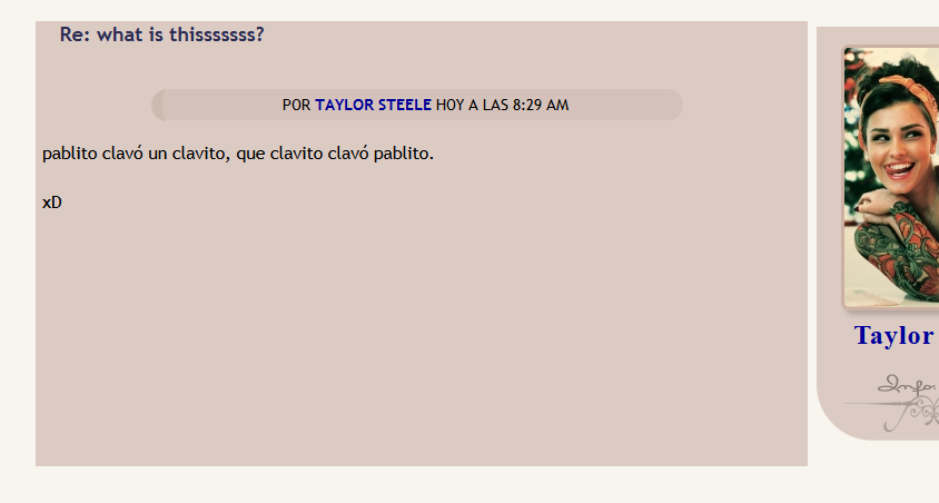 Aparece raya a la mitad del post Callef10