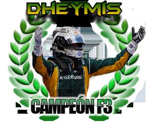 Dheymis, campeón de la F3 de la Temporada 7