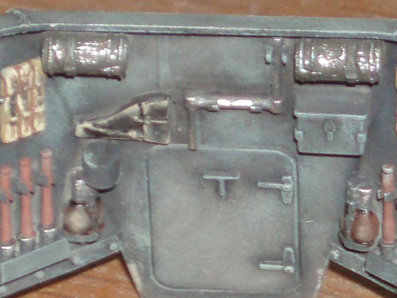 """Trumpeter German 12.8cm Selbstfahrlafette L/61 """"Sturer Emil"""" 1/35 et canon alu RB models ( MONTAGE TERMINE)  P8190010"""