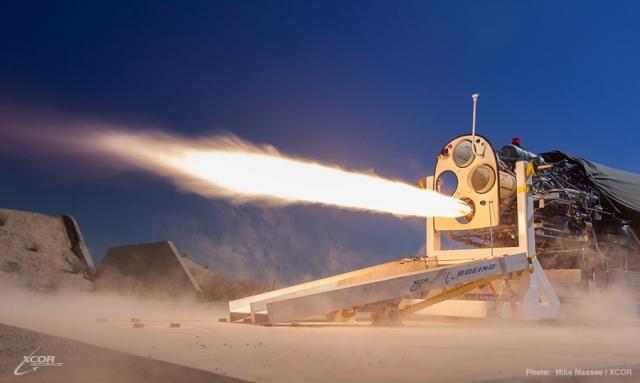 XCOR - 26 mars 2013 - 1ère mise à feu moteur-fusée par pompe à pistons pour le Lynx 13-02-10