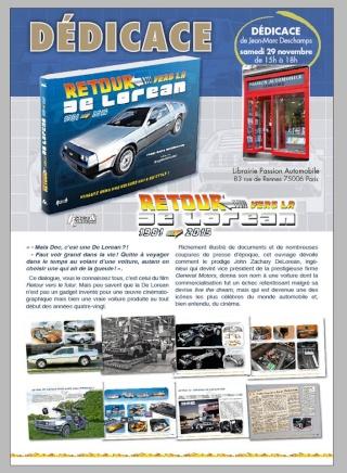 [Livre] Retour vers la De Lorean - la mythique voiture de Retour vers le futur - par Jean-Marc Deschamps 15364910