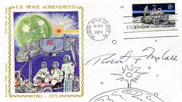 Philatélie Spatiale USA - 1971 - Space Achievement Decade (Apollo 15) 1971_010