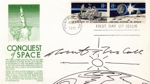 Philatélie Spatiale USA - 1971 - Space Achievement Decade (Apollo 15) 1971_011