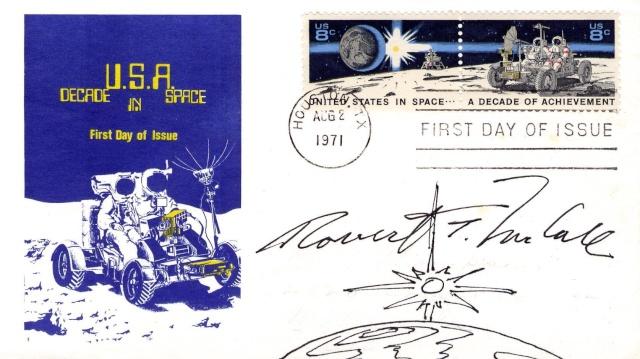 Philatélie Spatiale USA - 1971 - Space Achievement Decade (Apollo 15) 1971_012