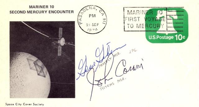 Philatélie spatiale USA - 1975 - Mariner 10 / Venus et Mercure 1974_014