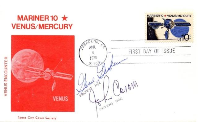 Philatélie spatiale USA - 1975 - Mariner 10 / Venus et Mercure 1975_013