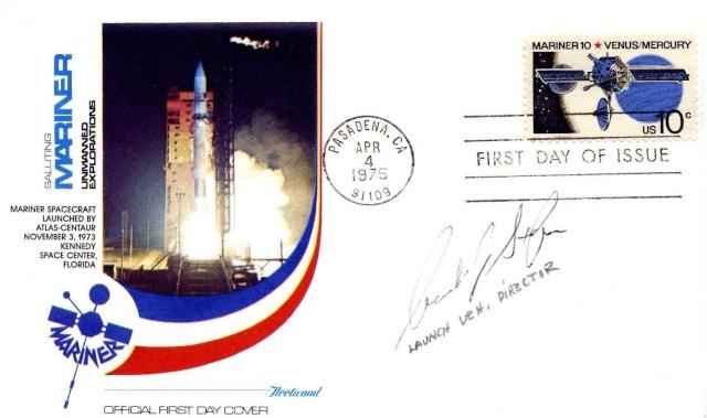 Philatélie spatiale USA - 1975 - Mariner 10 / Venus et Mercure 1975_014