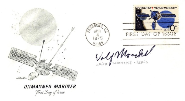 Philatélie spatiale USA - 1975 - Mariner 10 / Venus et Mercure 1975_015