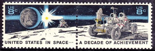 Philatélie Spatiale USA - 1971 - Space Achievement Decade (Apollo 15) 800px-11